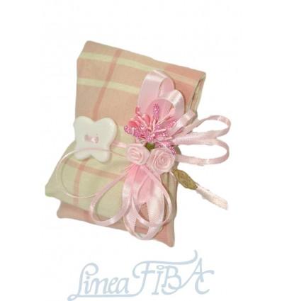 doppio cuscino farfalla Rosa
