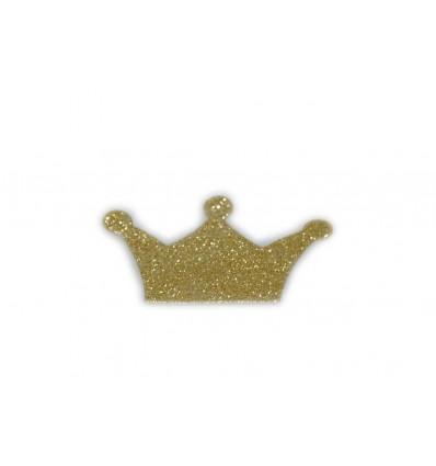 Corona sticker glitter